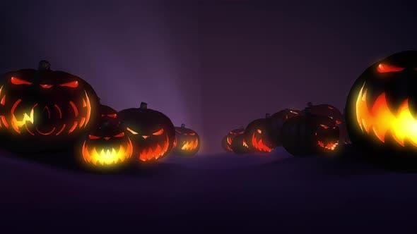 Thumbnail for Halloween Pumpkin 4k 03