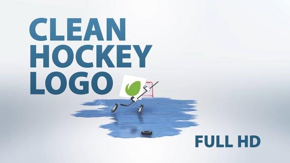 Thumbnail for Clean Hockey Logo