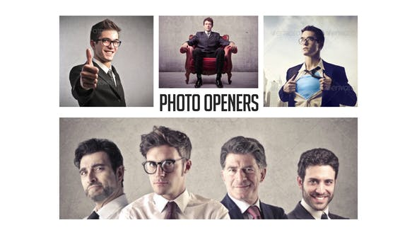 Thumbnail for Corporate Photo Openers - Logo Reveal