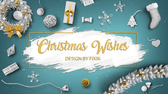 Thumbnail for Christmas Wishes  | After Effects Template