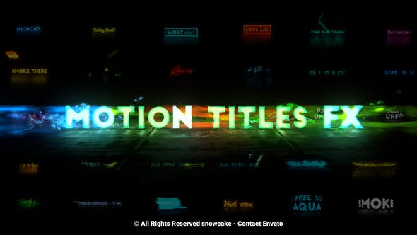 Thumbnail for Motion Titles FX