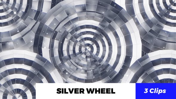 Thumbnail for Silver Wheel Kaleido