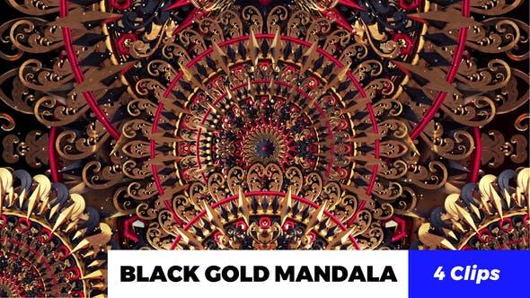 Thumbnail for Black Gold Mandala
