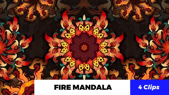 Thumbnail for Fire Mandala Kaleido