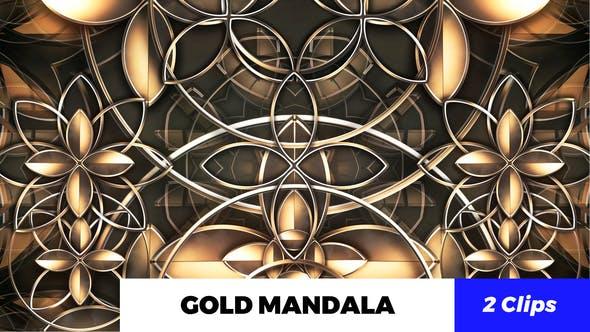 Thumbnail for Gold Mandala Kaleido