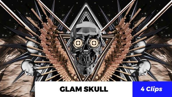 Thumbnail for Glam Skull