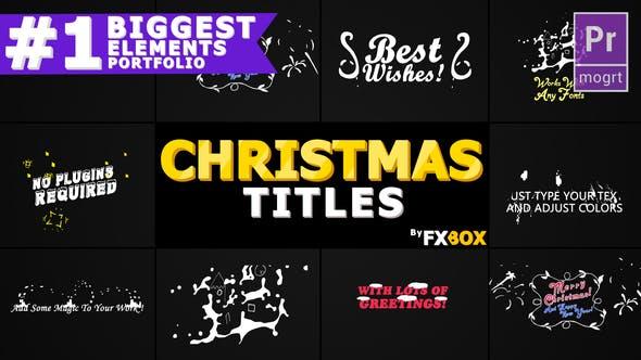 Thumbnail for Títulos de Navidad Y Transiciones