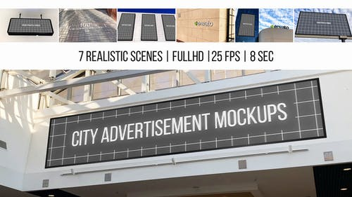 City Advertisement Mockups