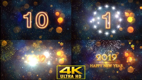 Thumbnail for New Year Opener With Countdown V1