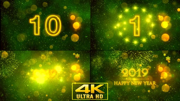 Thumbnail for New Year Opener With Countdown V3