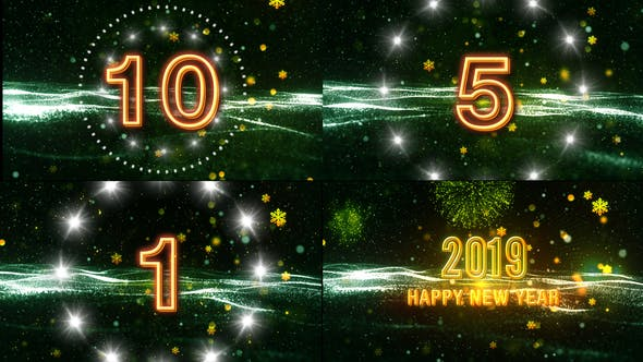 Thumbnail for New Year Wishes V1