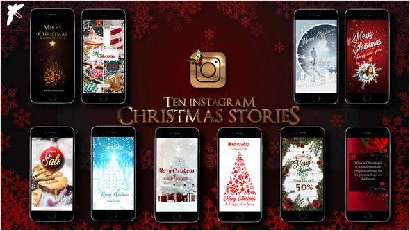 Thumbnail for 10 Instagram Christmas Stories