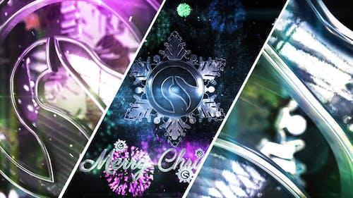 Snowflake Christmas Logo