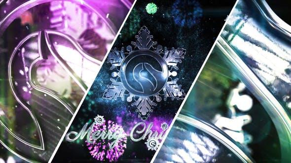 Thumbnail for Snowflake Christmas Logo