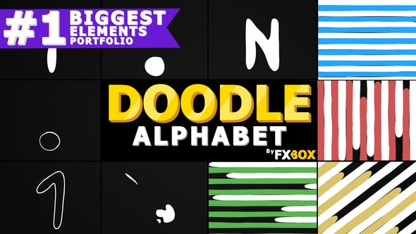 Thumbnail for Doodle Alphabet and Transitions