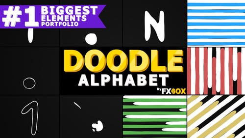 Doodle Alphabet And Transitions