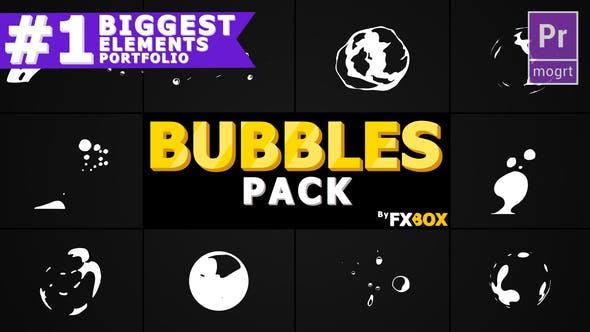 Cover Image for Flash FX BUBBLE Elements | Premiere Pro MOGRT