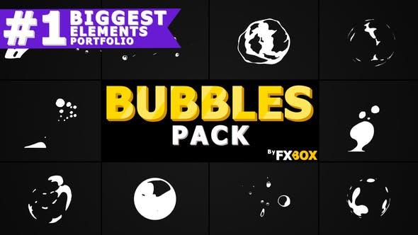 Thumbnail for Flash FX BUBBLE Elements | Motion Graphics Pack
