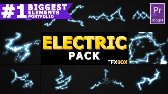 Thumbnail for Flash FX ELECTRIC Elements | Premiere Pro MOGRT