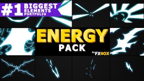Flash FX Energy Elements | Pack Graphiques animés