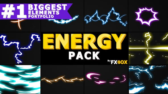 Thumbnail for Flash FX Energy Elements And Transitions