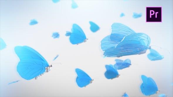 Thumbnail for Schmetterlings-Logo zeigen - Premiere Pro