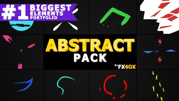 Thumbnail for Flash FX Abstract Elements | After Effects