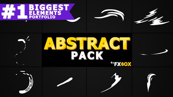 Thumbnail for Flash FX Abstract Shapes | After Effects