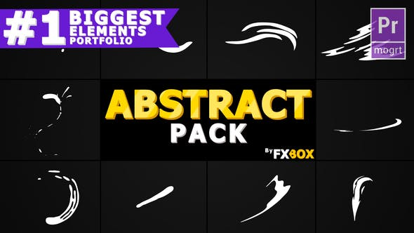Flash FX Abstract Shapes   Premiere Pro MOGRT