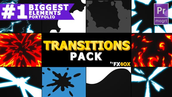 Thumbnail for Flash FX Extreme Transitions | Premiere Pro MOGRT