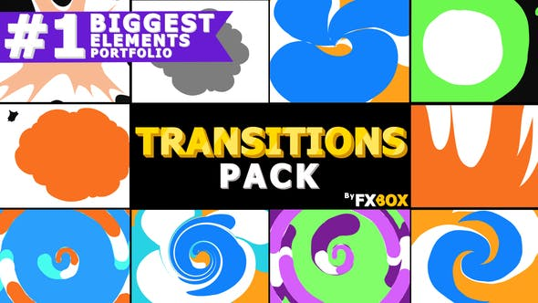 Thumbnail for Funny Transitions | After Effects