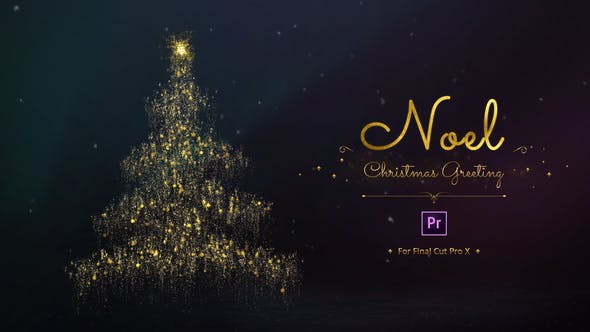 Thumbnail for Noel - Christmas Greetins for Premiere Pro
