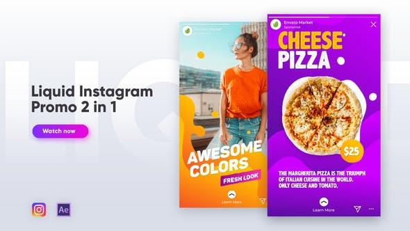 Thumbnail for Liquid Instagram Promo 2 in 1