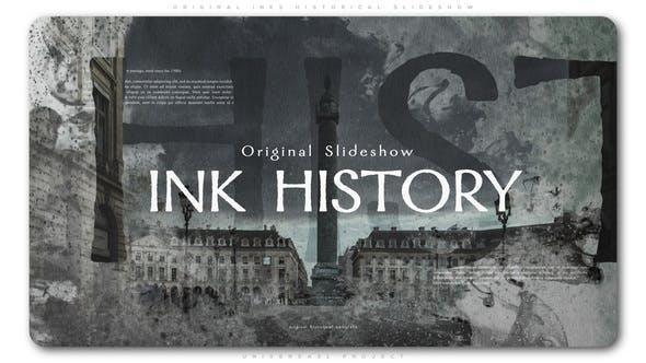 Cover Image for Original Inks Historical Slideshow