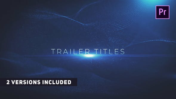 Thumbnail for Cinematic Trailer Titles