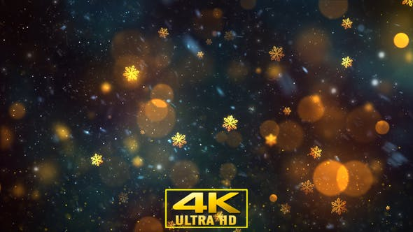 Thumbnail for Christmas Winter Background 1