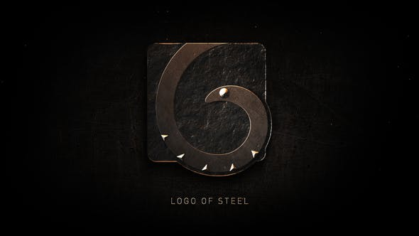 Thumbnail for Logo of Steel  | After Effects Template