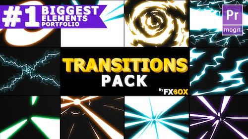 Handy Electric Transitions | Premiere Pro MoGRT