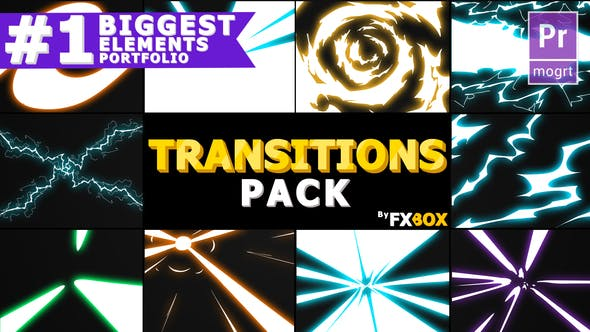 Thumbnail for Handy Electric Transitions | Premiere Pro MoGRT