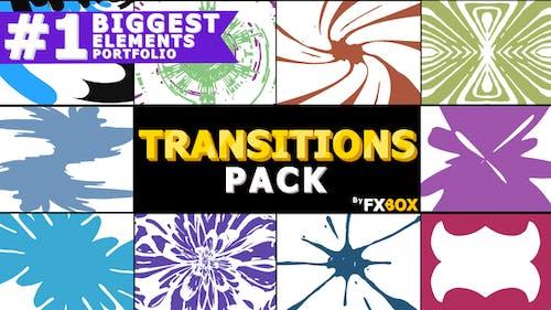 Pack Transitions dessinées à la main