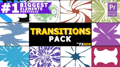 Hand Drawn Transitions Pack
