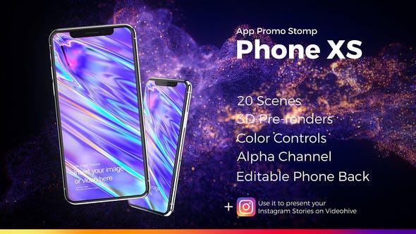 Thumbnail for App Promo Stomp Phone XS
