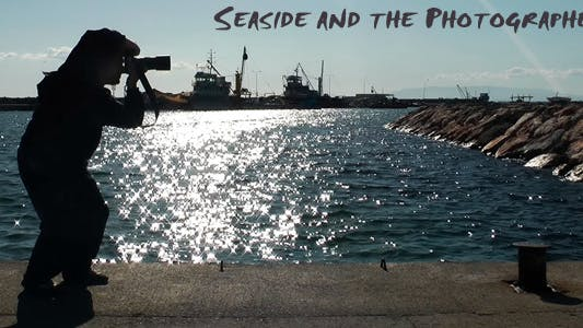 Thumbnail for Seaside And The Photographer Silhouette