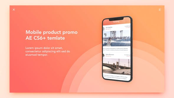 Thumbnail for Mobile Product Promo