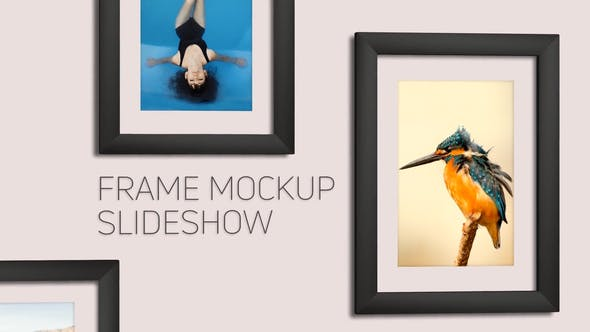 Thumbnail for Frame Mockup Slideshow