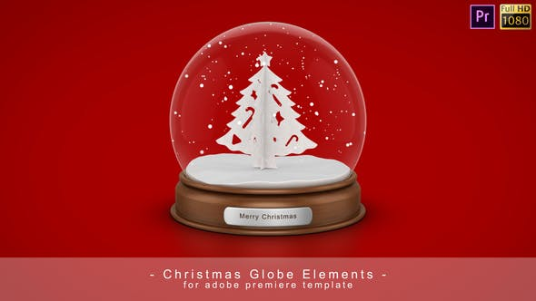 Thumbnail for Christmas Globe - Premiere Pro