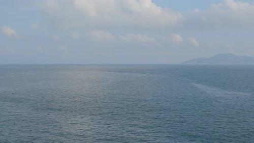 Sunny sky and the sea