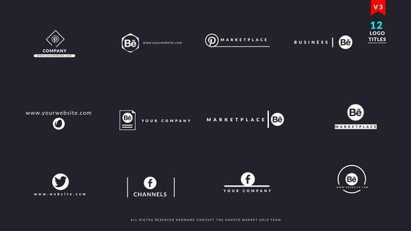 Thumbnail for Logo Titles V3