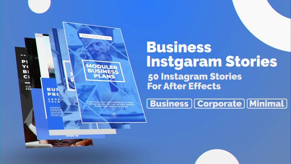 Thumbnail for Business Instagram Stories