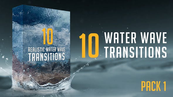 Thumbnail for Water Wave Transitions Pack 1
